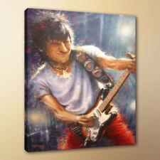 HD Oil Painting Art Ronnie Wood for Room Decor Print Canvas 24X32 Unframed