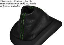 Verde Stitch Cuero Auto Automático Gear Polaina Para Bmw Serie 5 E60 E61 03-07