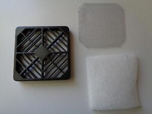 RCP-080 Fan Guard w/ EMI Shielding and Filter 80x80mm Plastic -  New