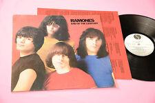 RAMONES LP END OF THE CENTURY ORIG ITALIA 1980 EX PROMO + INNER TESTI