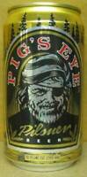 PIG'S EYE PILSNER BEER alum. CAN, Minnesota Brewing, St. Paul MINNESOTA,Gd. 1/1+
