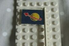 Lego Classic Space Flag From Beta -1 Command Base 6970 rare + free damaged one