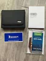 2018 AUDI R8 OWNERS MANUAL SET 5.2L 610hp 540hp R8 PLUS V10 COUPE SPYDER