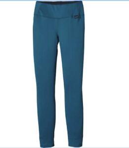 Patagonia Capilene Under Water Blue Poly-Blend Base Layer Pants Size MEDIUM?