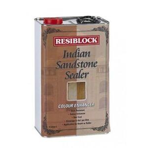 Resiblock Indian Sandstone Sealer 5 Ltr | Colour Enhancer | Natural Stone