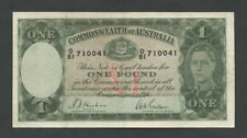 AUSTRALIA - KGVI £1  1939-42  P26a  Fine  - Banknotes