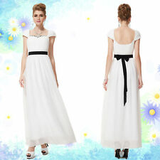 Chiffon Tall Dresses without Pattern for Women