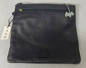 (BOT) Navy Radley Leather Handbag
