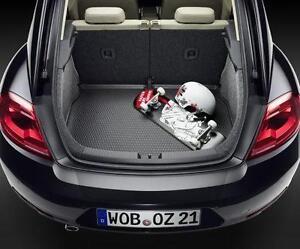 Kofferraum-matte für VW New Beetle Cabriolet 1Y7  Premium Velours Anthrazit