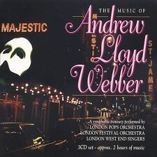Music of Andrew Lloyd Webber [Box] by Various (CD, Mar-1998, 3 Discs) NEW Sealed