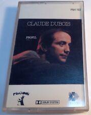 CLAUDE DUBOIS TAPE cassette PROFIL VOL.1 Disques Pingouin 1981