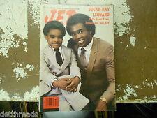 JET MAG - 10/29/1981 - Sugar Ray Leonard / Joe Frazier - SOUL JAZZ