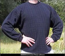schwarzer langarm Sweater Freizeit Fitness Gym Sport Bodybuilding von MORDEX