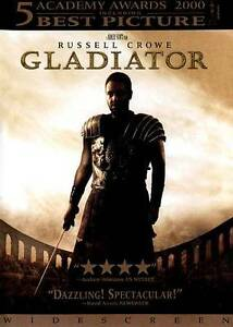 Gladiator (DVD, 2000) Russell Crowe Widescreen