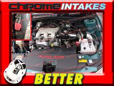 CF BLACK RED 97 98 99 00 01 02 03 CHEVY MALIBU 3.1L V6 FULL COLD AIR INTAKE 3pc