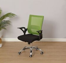Mid-Back Mesh Office Chair - Green