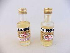 BERGER PASTIS DE MARSEILLE/LOT DE 2 MIGNONETTES PLEINES