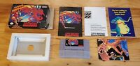 Super Metroid - Super Nintendo SNES Samus Game CIB Complete Box Book Manual lot!
