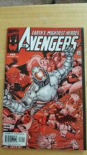The Avengers # 22 Ultron Perez Busiek Oct 1999 - VF-