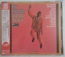 """Wilson Pickett The Exciting  CD Japón Reedición 2014 con """"Obi"""""""
