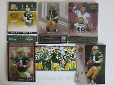 BRETT FAVRE - 6x Trading Cards 2007 incl. Premium Cards (Green Bay PACKERS Lot)