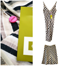 2x Designer Mark Whitaker for Omnia Stripy Chevron Dress and Skirt Job Lot BNWT