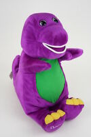"""BROKEN - 14"""" Barney Electronic Toy 2001 Fisher Price for Parts or Repair"""
