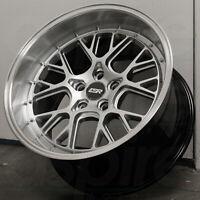 18x8.5/18x9.5 Hyper Silver Wheels ESR CS11 5x120 30/35 (Set of 4)