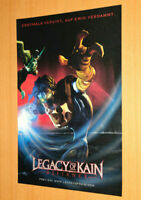 Legacy of Kain Defiance Old Advertising Small Poster Promo Ad Print PS1 Xbox