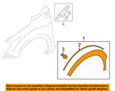 SUBARU OEM-Front Fender Flare Wheel Well Arch Molding Right 91112FJ101
