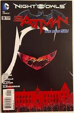 BATMAN 9 NM UNREAD NIGHT OF THE OWLS NEW 52 SNYDER AND CAPULLO