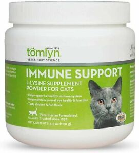 Tomlyn L-Lysine Cat Immune Support Powder 1ea/3.5 oz    Free Shipping