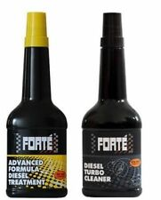 Forte Advanced Formula Diesel Treatment & Turbo Cleaner Twin Pack - 400ML