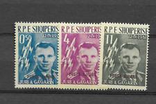 1962 MNH Albanië, Albania, Albanien, Mi 647-9a overprint,  postfris**