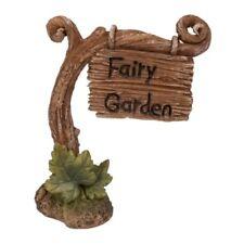 Vivid Miniature World MW03-020 Resin Vine Fairy Post Ornament by Vivid Arts