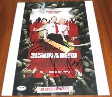 Shaun of the Dead Cast Signed 11x14 Simon Pegg Nick Frost Wright PSA/DNA LOA