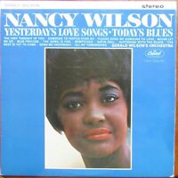 NANCY WILSON YESTERDAY'S LOVE SONGS TODAY'S BLUES LP Capitol Stereo 1964 EX