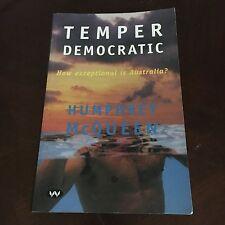 HUMPHREY MCQUEEN, TEMPER DEMOCRATIC.