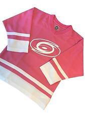 New NWT Youth Girls Pink Large 10/12 NHL Carolina Hurricanes Jersey Shirt