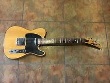 Telecaster Electric Guitar Blonde Vintage
