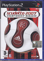 Ps2 PlayStation 2 **SCUDETTO 2007 • CHAMPIONSHIP MANAGER** nuovo Italiano Pal
