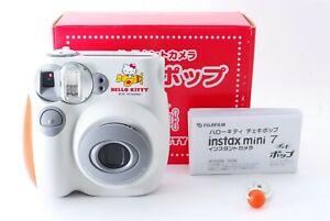 KAWAII! Mint Hello Kitty Fujifilm Instax mini7 instant camera cheki from JAPAN