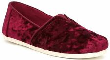 Toms Classic Cherry Shearling Womens Espadrilles Shoes