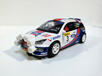 Slot SCX Scalextric Altaya For Focus WRC #3 VII Open de España 2003 Sainz- Moya