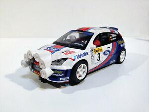 Slot Scx Scalextric Altaya Pour Focus WRC #3 VII Open D Espagne 2003 Sainz- Moya