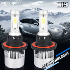 9008 H13 1080W LED Headlight Bulbs for 2004-2014 Ford F-150 High Low Beam 6000K