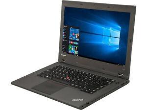 """Lenovo THINKPAD L440 I5 4200M 8GB 500GB WEBCAM WIFI BT MINI-DP Win 10 PRO 14"""""""