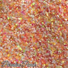 Mezcla De Uñas Brillo Gel/acrílico uñas Grueso Iridiscente 6g Bolsa Paraíso Punch
