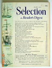SÉLECTION DU READER'S DIGEST DE MARS 1967