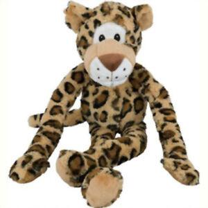 "MULTIPET - Swingin Safari Leopard Large Plush Dog Toy - 22"" (56 cm)"